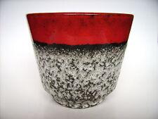 Keramik Übertopf Cachepot Jopeko Fat Lava West-Germany pottery WGP Vintage