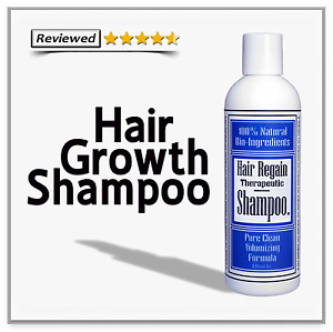 REGAIN HAIR LOSS REGROWTH SHAMPOO grow natural real & no rogaine side effects