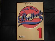 Kessler: The Best Ballades 1, KDM-Verlag, 1995 Notenbuch