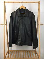Daniel Cremieux Men's Genuine Leather Jacket Buttersoft Lambskin Size M