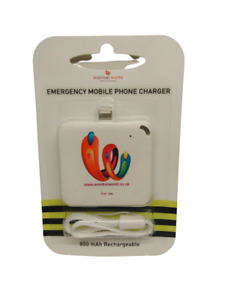 iPhone Charger Power Bank Battery Portable External USB Rechargeable Mini