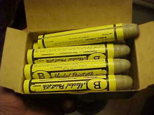 12 Markal B Cold Surface Paint Markers PURPLE Weather Proof Marks Most Anything