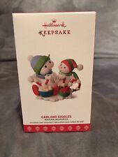 Hallmark 2017 Garland Giggles Making Memories Series Snowman Ornament Keepsake