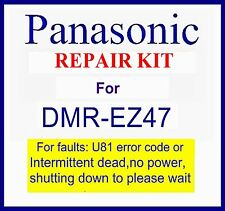 Panasonic Dmr-ez47v dvd Repair kit For, U81 error code, Please wait, Dmr-ez47veb