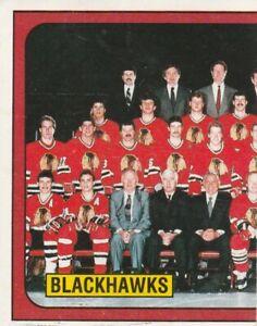 1988-89 Panini Hockey Stickers #32 Blackhawks