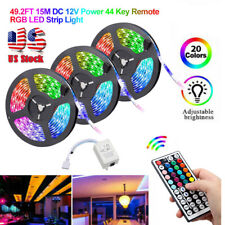 49FT 32FT Flexible 3528 RGB LED SMD Luz de Tira Luces de Hadas Sala Tv Fiesta Bar