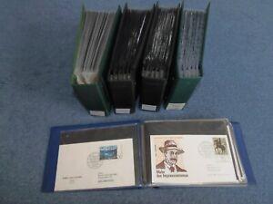 BUND - 438 versch. FDCs aus 1960-1979, ex MiNr. 349-1032, in 5 Alben M€ 1.183,10