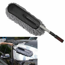 Large Car Cleaning Duster Cars Home Wax Treated Microfiber Plastic Handle Brush