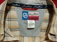 George Strait Cowboy Cut Collection Western Shirt by Wrangler Men's Sz 3X