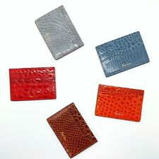 Handmade genuine crocodile skin credit card holder Card Case Free Shipping