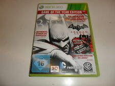 XBOX 360 Batman: Arkham City-Game of The Year Edition
