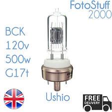 Ushio BCK 120V 500W g17t 1000047 Airequipt ARGUS Dukane l'ampoule du projecteur / lampe