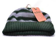 Winter Urban Pipeline Men Women Black Gray Warm Beanie Stripe Knit Hat 0065