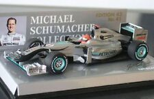 MINICHAMPS 100073 Mercedes GP F1 model Showcar MICHAEL SCHUMACHER 2010 1:43rd