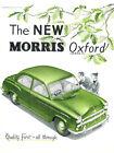 1954 1955 Morris Oxford Series II Original Dealer Sales Brochure Catalog