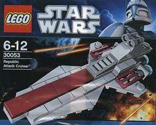 LEGO star wars the clone wars republic Attack Cruiser venator classe 30053