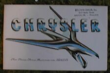 1956 Chrysler FL Brochure Folder  NY Windsor St Regis