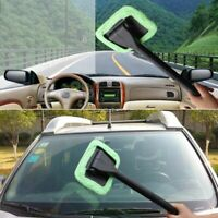 Portable Windshield Easy Cleaner Window Cleaning Microfiber Cloth Accessories