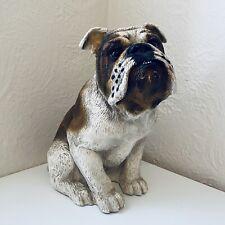 New ListingVintage 1984 Universal Statuary Sitting Bulldog Figure Dog Sculpture #289
