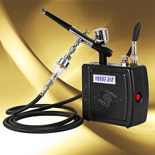 Airbrush Set Mini Luftkompressor Airbrushkompressor Kompressor Schwarz