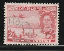 PAPUA 1939 2d Rose-red AIR SG 163 VFU