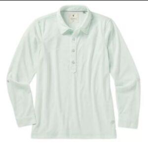 Linksoul Womens Roll Up Long Sleeve Shirt LSW138 - Julep Size M Golf Shirt