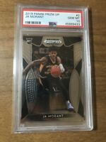 2019 Panini Prizm Draft Picks Ja Morant ROOKIE CARD RC #2 PSA 10 GEM MINT INVEST