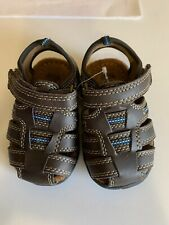 Route 66 Closed Toe Toddler Sandals Boys Size 4 New W Box