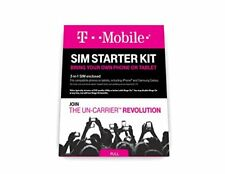 T-Mobile Prepaid Complete Sim Starter Kit - No Contract Network Connection Nano