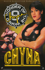 POSTER :WWF: CHYNA  - 9th WONDER OF THE WORLD - FREE SHIPPING ! #3473   RBW1 Q