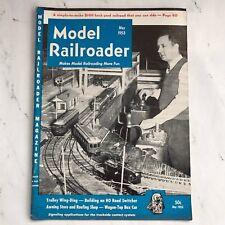 Vintage Model Railroader Magazine May 1953 Issue Railroad Trains Railroading