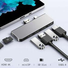 USB 3.0 HUB HDMI SD/TF Docking Station for Microsoft Surface Pro 4/5/6 Adapter