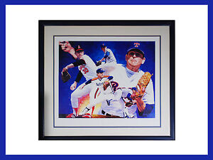 Nolan Ryan Danny Day Autographed Framed Limited Edition Lithograph COA # 235/600