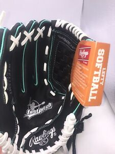 "Left handed SOFTBALL GLOVE  11 1/2"" Fastpitch Leather Palm WFP115MT"