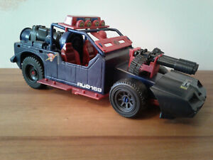Vintage 1986 Hasbro GI Joe Dreadnok Thunder Machine Car