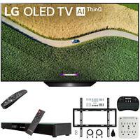 "LG OLED55B9PUA B9 55"" 4K HDR Smart OLED TV w/ AI ThinQ (2019) + Soundbar Bundle"