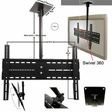 """Ceiling TV Bracket 30"""" - 60"""" with Tilt Feature and 360 Rotate"""