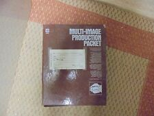 The Book of Programmed Multi-Image Production Multi-Image Production Packet KIT