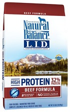Natural Balance Limited Ingredient Diets High Protein Dry Dog Food, Beef Formula