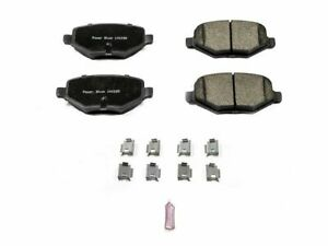 For 2013-2016 Lincoln MKT Disc Brake Pad and Hardware Kit Power Stop 63979FQ