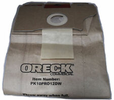 Oreck Commercial Upright Pro 12 Vaccum Bags, 10 Per Pack
