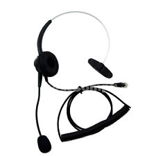 New Special A100 Call Center corded NC Telephone RJ9 Microphone Headset Monaural