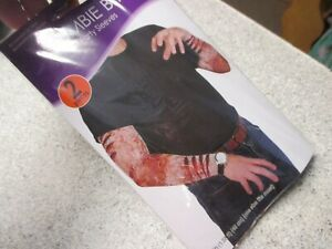 Halloween Walking Dead Novelty Party Costume Prop Accessory ZOMBIE BITE SLEEVES