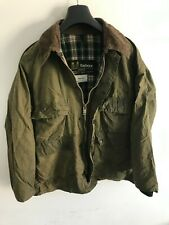 Mens Vintage Barbour Bedale wax jacket Green coat 40in size Small / Medium S/M