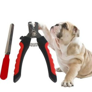 Pet Cat Dog Rabbit Toe Nail Trimmer Grooming File Clippers Claw Scissors Cutter~