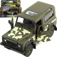 Land Rover Defender Diecast Model Off-road Vechicle Scale 1:36