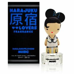 HARAJUKU LOVERS Fragrance MUSIC 10 ML Eau de Toilette spray