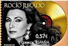 ESPAÑA 2016 - SELLO ROCIO JURADO - NUEVO.  EDIFIL 5051.