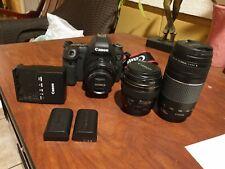 Canon EOS 6D 20.2MP + Lens bundle - Preowned, ~6400 shutter count