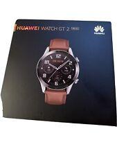 HUAWEI Watch GT 2 Smartwatch 46 mm, GPS, Quadrante 3D, Bluetooth, Matte Black
